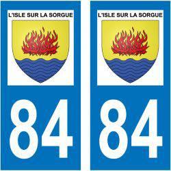 Sticker Plaque L'Isle-sur-la-Sorgue 84800