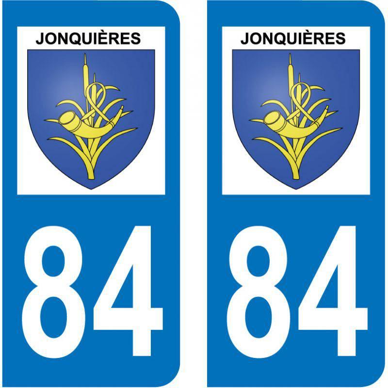 Sticker Plaque Jonquières 84150