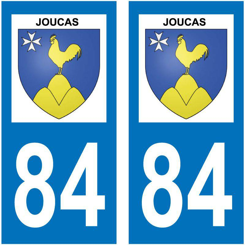 Sticker Plaque Joucas 84220