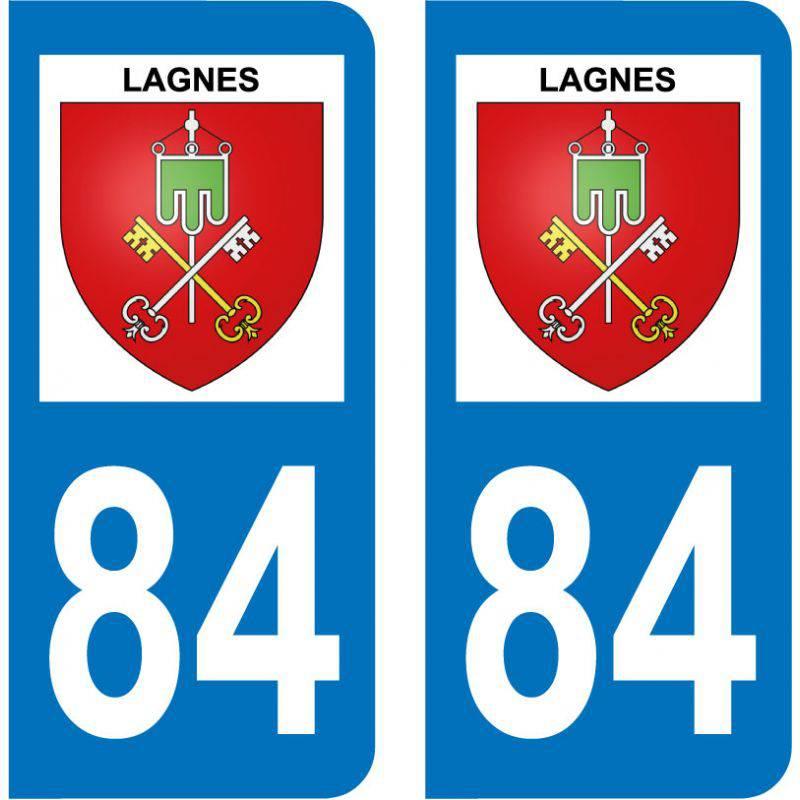 Sticker Plaque Lagnes 84800
