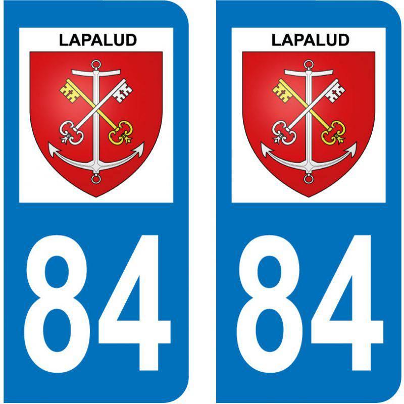 Sticker Plaque Lapalud 84840