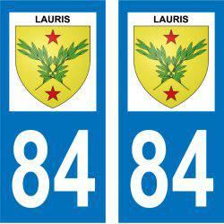 Sticker Plaque Lauris 84360