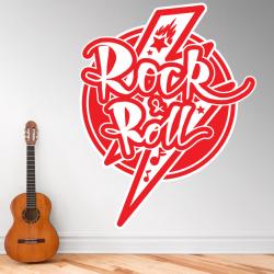Autocollant Rock & Roll - 1