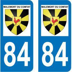 Sticker Plaque Lioux 84220