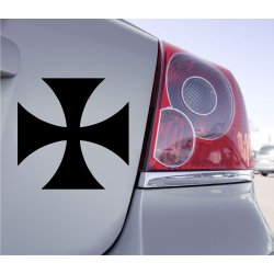Autocollant Croix de Malte