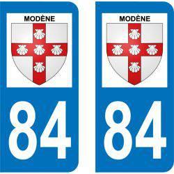 Sticker Plaque Modène 84330