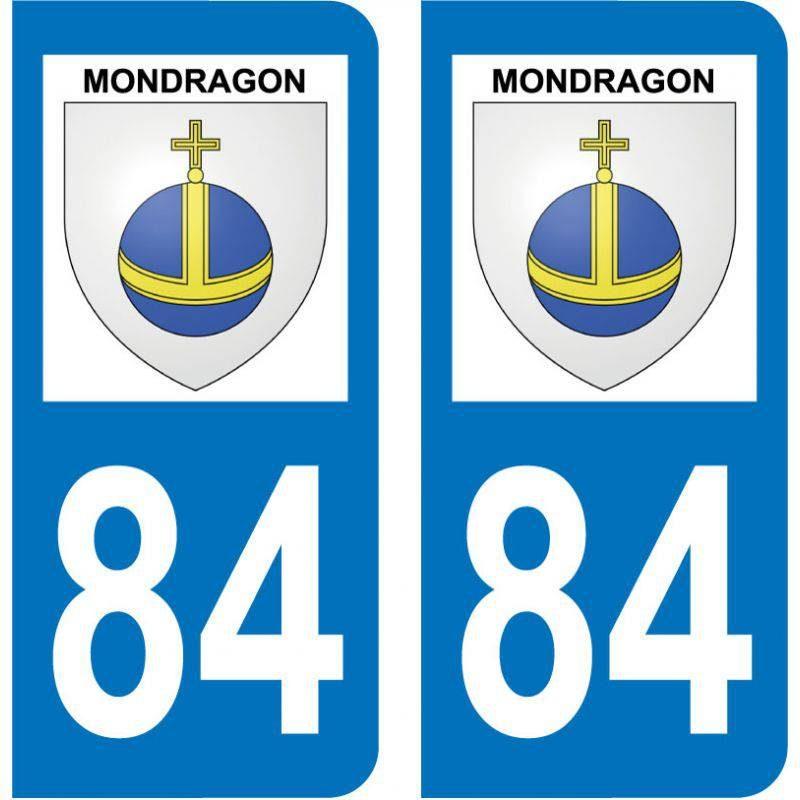 Sticker Plaque Mondragon 84430