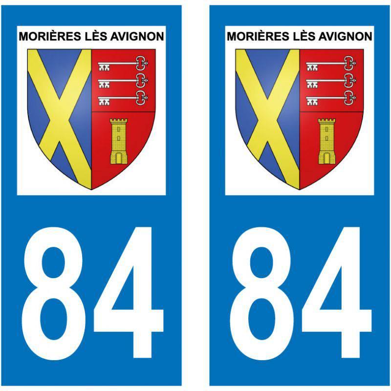 Sticker Plaque Morières-lès-Avignon 84310
