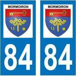 Sticker Plaque Mormoiron 84570