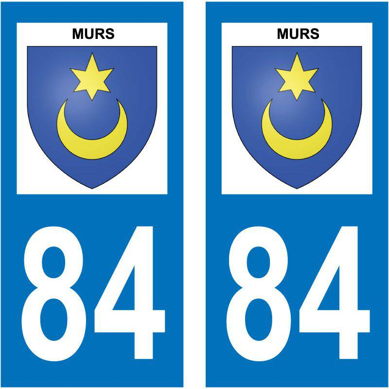 Sticker Plaque Murs 84220