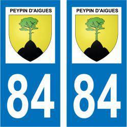 Sticker Plaque Peypin-d'Aigues 84240