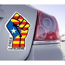Sticker Free Catalogne