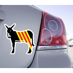 Sticker Ane Burro Catalan