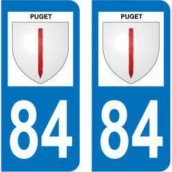 Sticker Plaque Puget 84360