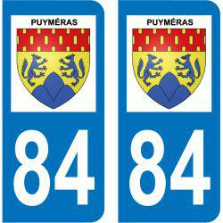 Sticker Plaque Puyméras 84110