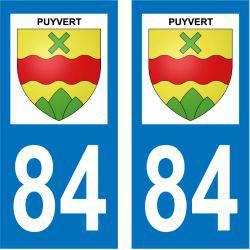 Sticker Plaque Puyvert 84160