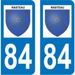 Sticker Plaque Rasteau 84110