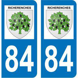 Sticker Plaque Richerenches 84600