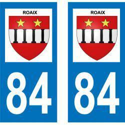 Sticker Plaque Roaix 84110
