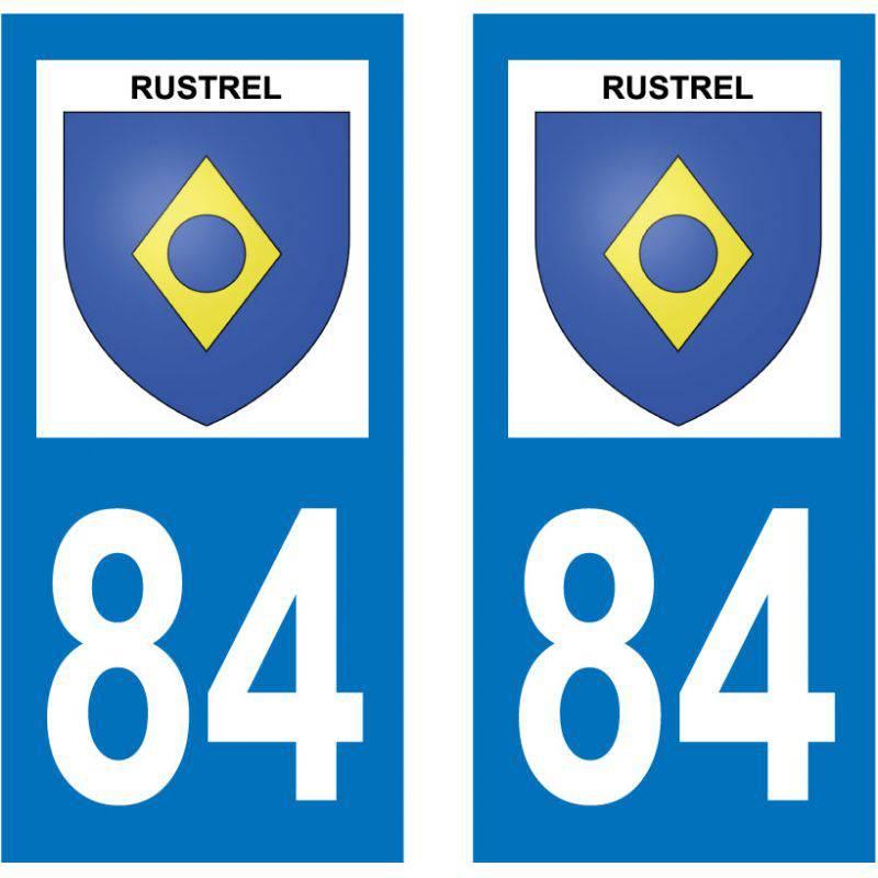 Sticker Plaque Rustrel 84400