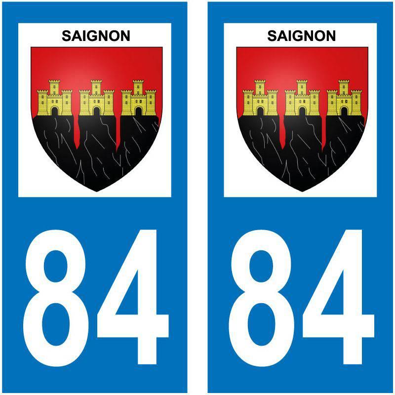 Sticker Plaque Saignon 84400