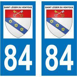 Sticker Plaque Saint-Léger-du-Ventoux 84390