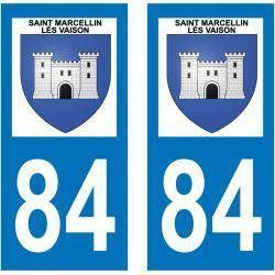 Sticker Plaque Saint-Marcellin-lès-Vaison 84110
