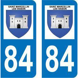 Sticker Plaque Saint-Marcellin-lès-Vaison 84110