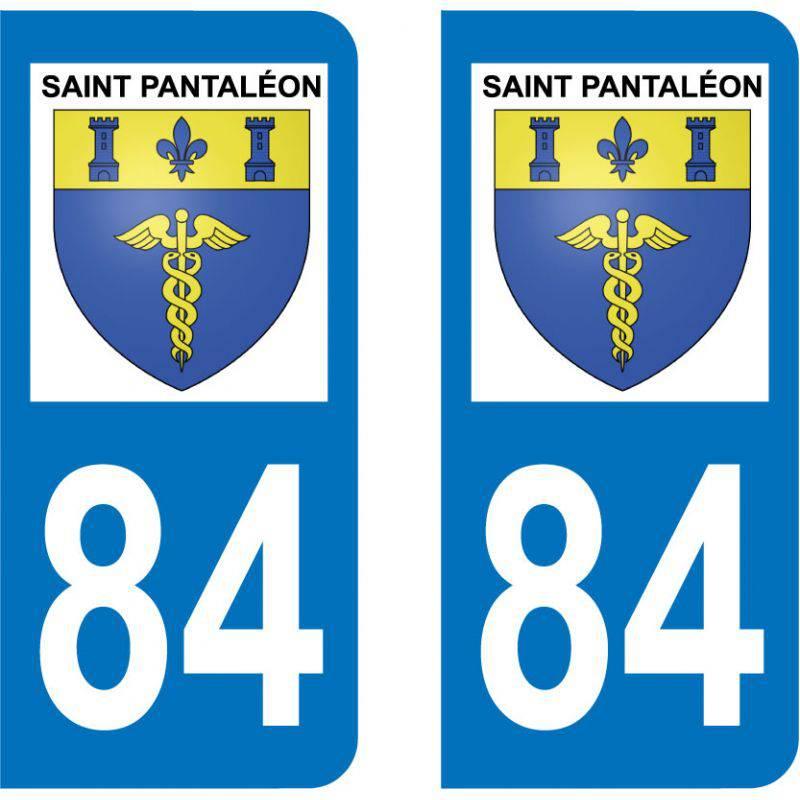 Sticker Plaque Saint-Pantaléon 84220