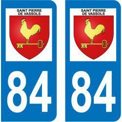 Sticker Plaque Saint-Pierre-de-Vassols 84330