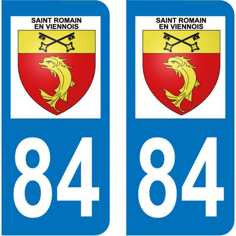 Sticker Plaque Saint-Romain-en-Viennois 84110