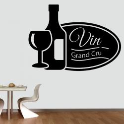 Sticker Mural Cuisine Vin...