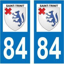 Sticker Plaque Saint-Trinit 84390