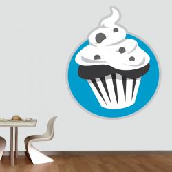 Sticker Mural Cuisine Muffin