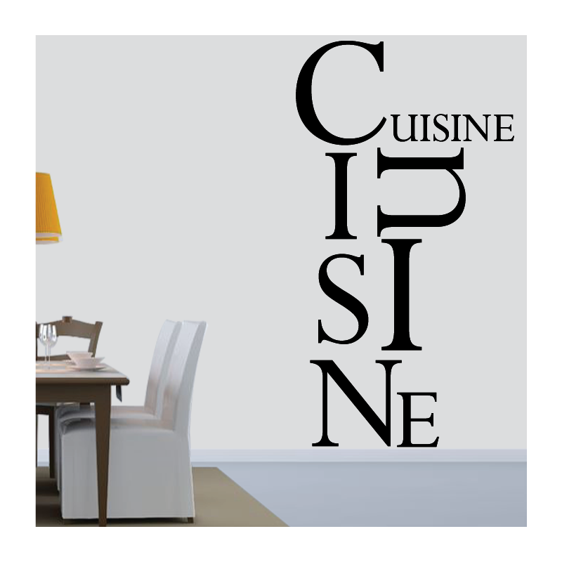 Sticker Mural Cuisine Moderne