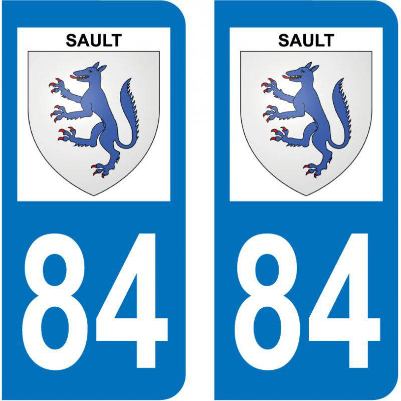 Sticker Plaque Sault 84390