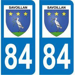 Sticker Plaque Savoillan 84390