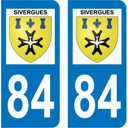 Sticker Plaque Sivergues 84400