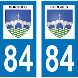 Sticker Plaque Sorgues 84700