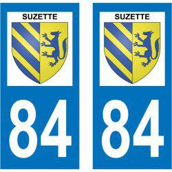 Sticker Plaque Suzette 84190