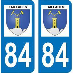 Sticker Plaque Taillades 84300