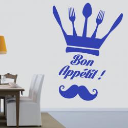 Sticker Mural Cuisine Chef...