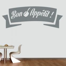 Sticker Mural Bon Appetit