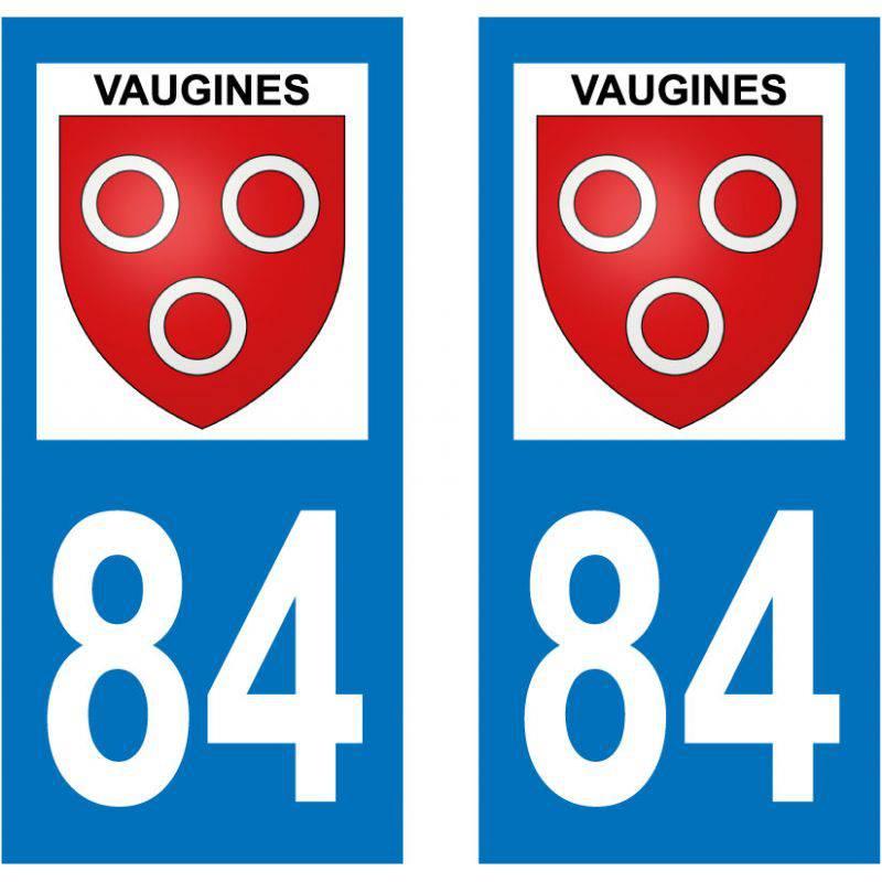 Sticker Plaque Vaugines 84160
