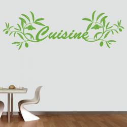 Sticker Mural Cuisine...