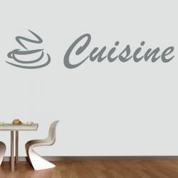 Sticker Mural Cuisine Café