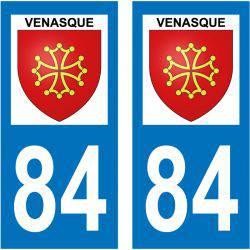 Sticker Plaque Venasque 84210