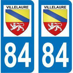 Sticker Plaque Villelaure 84530