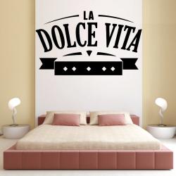 Sticker Mural La Dolce Vita