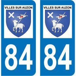 Sticker Plaque Villes-sur-Auzon 84570